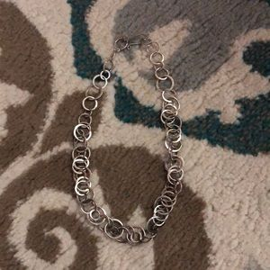 Jewelry - Sterling silver O link necklace